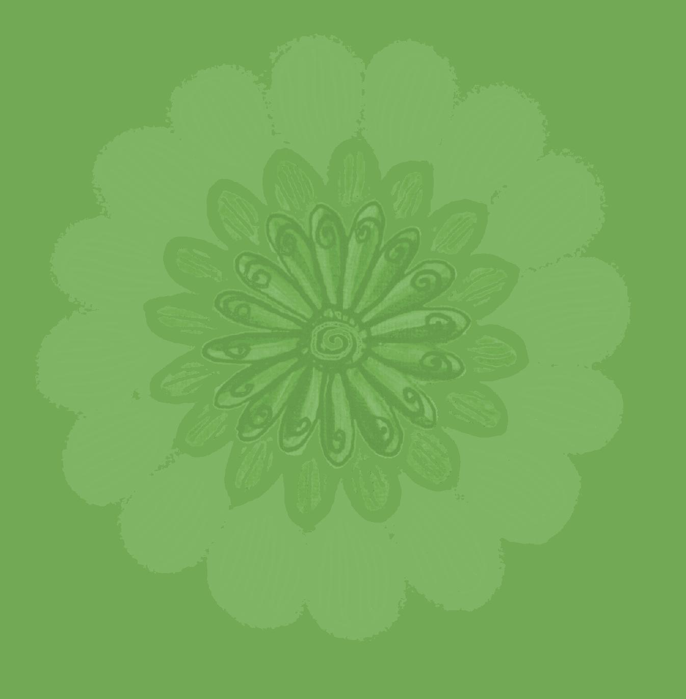 Bullet Flower gruen