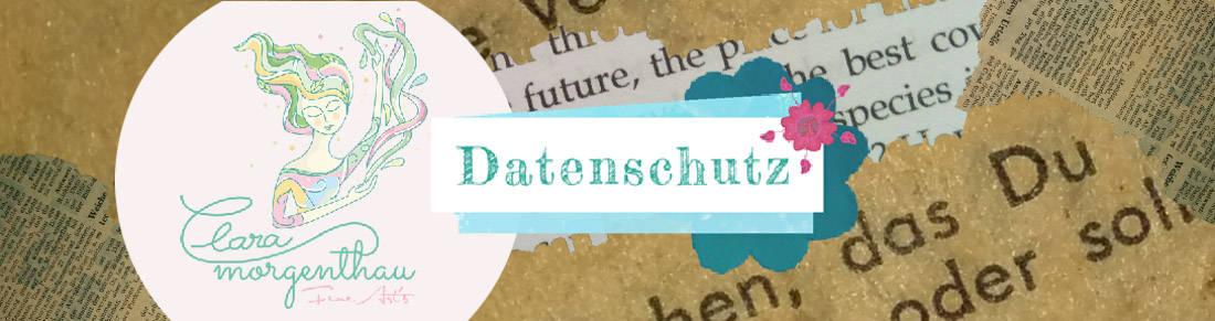 Banner Clara Morgenthau Datenschutz