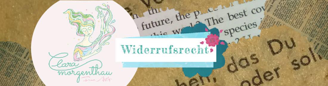 Clara Morgenthau Widerrufsrecht